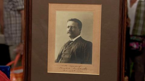 Antiques Roadshow -- S19 Ep1: Appraisal: Theodore Roosevelt Collection, ca. 1905