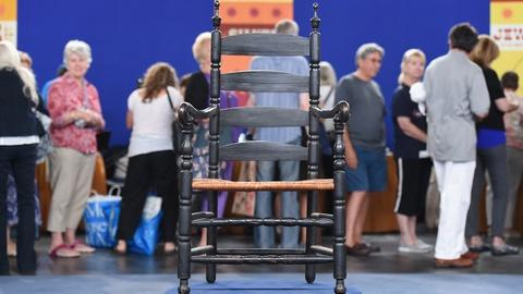 Antiques Roadshow -- S19 Ep2: Appraisal: New York Great Chair, ca. 1725