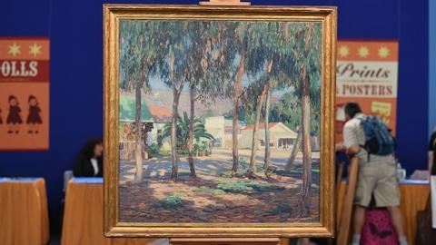 Antiques Roadshow -- S19 Ep2: Appraisal: Joseph Kleitsch Oil Painting, ca. 1925