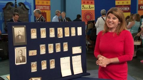 Antiques Roadshow -- S19 Ep1: Appraiser Interview: Leila Dunbar & the Baseball Ar