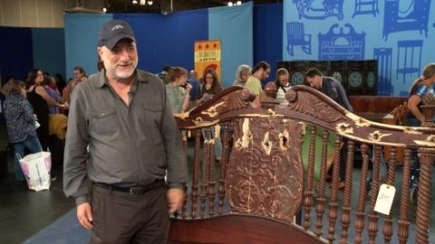 "Antiques Roadshow -- S19 Ep1: Owner Interview: ""The Godfather, Part II"" Headboard"