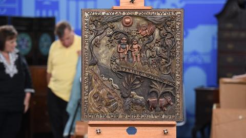 Antiques Roadshow -- S19 Ep3: Appraisal: Adam & Eve Carved Panel, ca. 1930