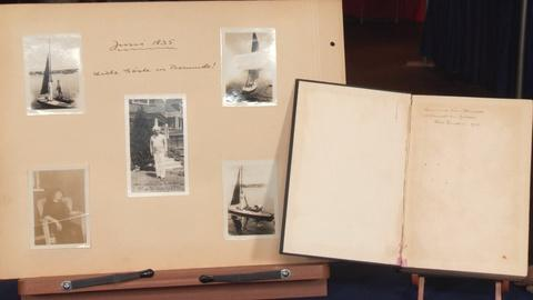 Antiques Roadshow -- S19: Web Appraisal: Einstein Photos & Inscribed Book, ca. 19