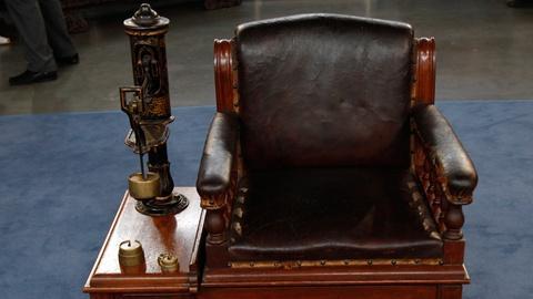 Antiques Roadshow -- S14 Ep18: Appraisal: Edwardian Jockey Chair, ca. 1895