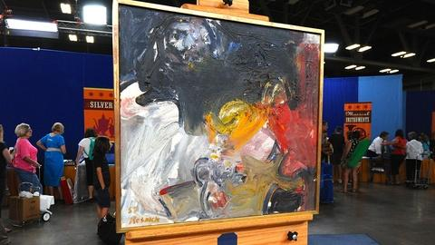 Antiques Roadshow -- Appraisal: 1957 Milton Resnick Abstract Oil