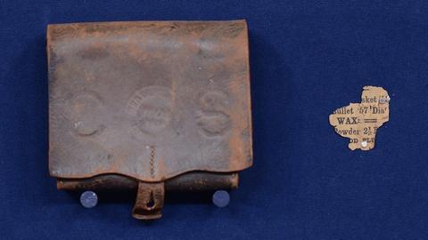 Antiques Roadshow -- S19 Ep4: Appraisal: 1864 Houston Depot Cartridge Box