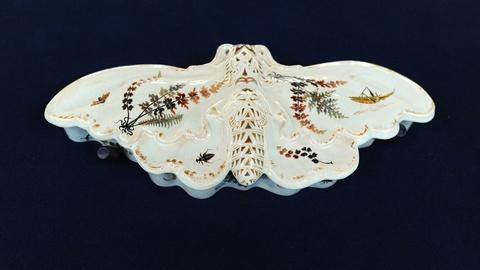 "Antiques Roadshow -- S19 Ep4: Appraisal: Gallé ""Moth"" Dressing Table Box, ca. 188"