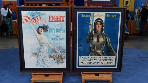 Antiques Roadshow -- S19 Ep5: Appraisal: World War I Bond Posters, ca. 1917