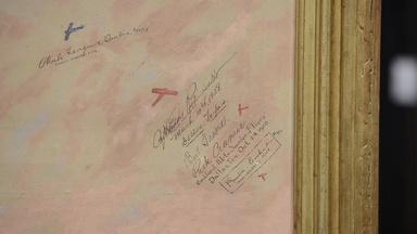 Appraisal: Autographed Arthur Bishop Jeffreys Painting