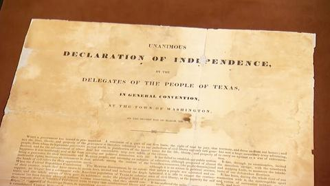 Antiques Roadshow -- S19 Ep5: Field Trip: Texas Declaration of Independence Docum