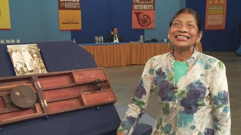 Antiques Roadshow -- S19 Ep5: Owner Interview: Gandhi Spinning Wheel