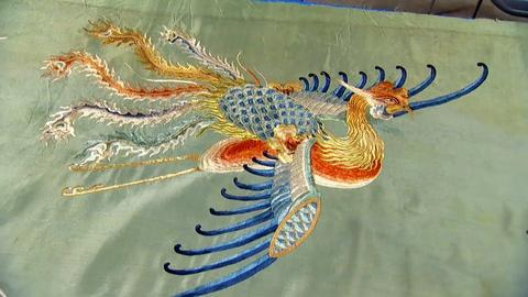 Antiques Roadshow -- S19 Ep5: Appraisal: Chinese Embroidered Silk Textile, ca. 18