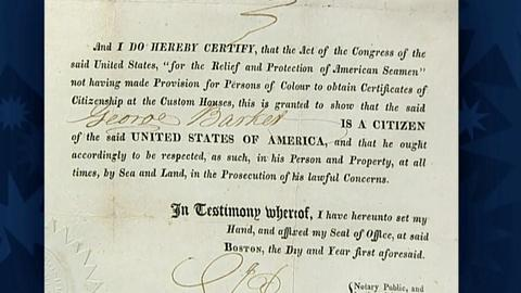 Antiques Roadshow -- S19 Ep6: Appraisal: 1821 U.S. Citizenship Certificate