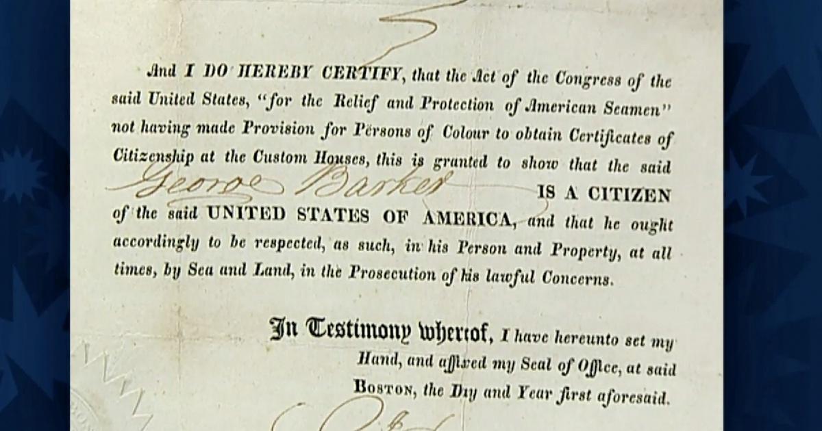 Appraisal 1821 Us Citizenship Certificate Antiques Roadshow Opb