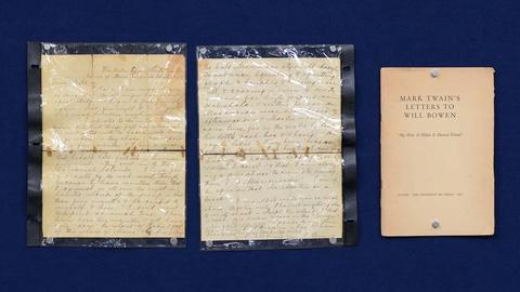 Antiques Roadshow -- S19 Ep6: Appraisal: 1866 Samuel Clemens Letter
