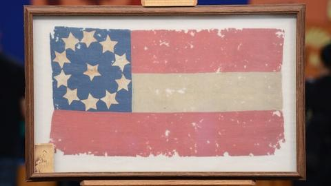 Antiques Roadshow -- S19 Ep6: Appraisal: Confederate First National Flag