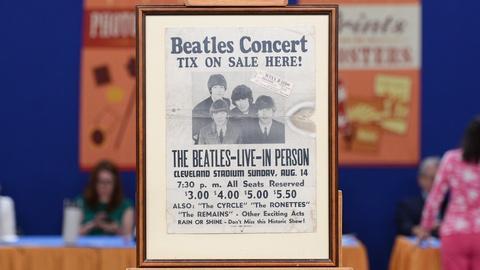 Antiques Roadshow -- S19 Ep6: Appraisal: 1966 Beatles Concert Poster & Ticket