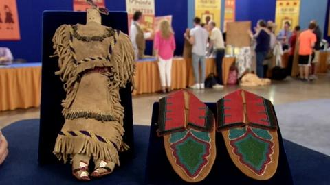 Antiques Roadshow -- S19 Ep6: Appraisal: Apache Doll & Oklahoma Delaware Moccasin