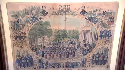 Antiques Roadshow -- S21 Ep28: Appraisal: 1870 15th Amendment Print