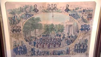 Appraisal: 1870 Fifteenth Amendment Celebration Print