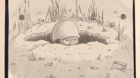 Antiques Roadshow -- S19: Web Appraisal: WWII James F. Brown Comic Art