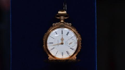 "Antiques Roadshow -- S19 Ep7: Appraisal: N. Gamse ""The Globe"" Pocketwatch, ca. 19"