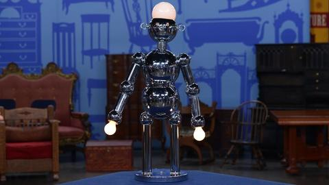 Antiques Roadshow -- S19 Ep7: Appraisal: Torino Chrome Robot Lamp, ca. 1979