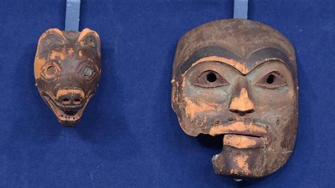 Antiques Roadshow -- S19 Ep7: Appraisal: Tlingit Wolf Masquette & Ancestor Mask