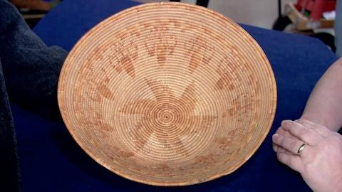 Antiques Roadshow -- S19 Ep7: Appraisal: Mission Indian Basket, ca. 1920
