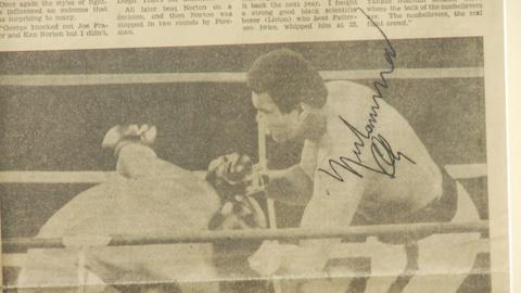 Antiques Roadshow -- S19 Ep8: Web Appraisal: 1974 Muhammad Ali Signed Newspaper