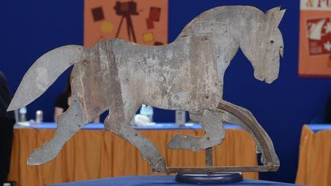 Antiques Roadshow -- S19 Ep8: Appraisal: Horse Weathervane, ca. 1910