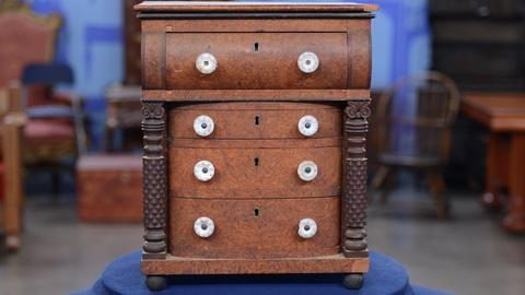 Antiques Roadshow -- S19 Ep8: Appraisal: Diminutive Chest of Drawers, ca. 1835