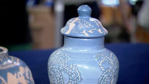 Antiques Roadshow -- S19 Ep8: Appraisal: University of North Dakota Vases