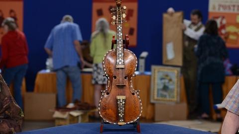 Antiques Roadshow -- S19 Ep9: Appraisal: 1890 Norwegian Hardanger Fiddle