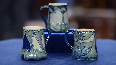 Antiques Roadshow -- S19 Ep9: Appraisal: 1901 & 1908 Newcomb College Mugs