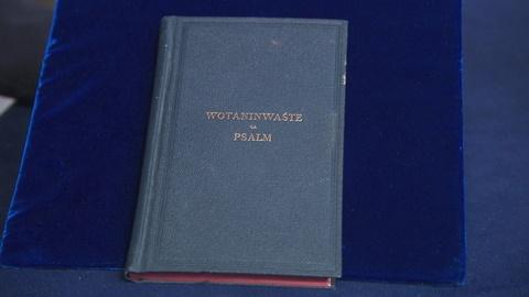 "Antiques Roadshow -- S19 Ep9: Appraisal: 1890 Dakota ""Wotaninwaste"" Book of Psalm"