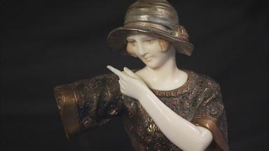 "Appraisal: Demetre Chiparus ""Indiscreet"" Sculpture"