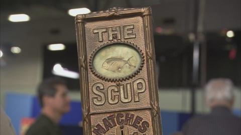 Antiques Roadshow -- S15 Ep9: Appraisal: Cast Iron Match Machine