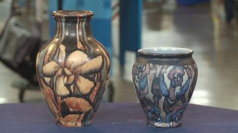 Antiques Roadshow -- S19 Ep9: Web Appraisal: 1930 & 1931 Rookwood Matte Vases