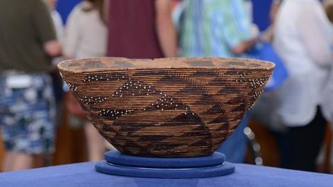 Antiques Roadshow -- S19 Ep10: Appraisal: Pomo Gift Basket, ca. 1860