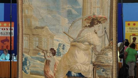 Antiques Roadshow -- S19 Ep10: Appraisal: Belgian Allegorical Tapestry, ca. 1660