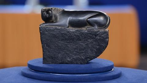 Antiques Roadshow -- S19 Ep10: Appraisal: Folk Art Carved Coal Lion