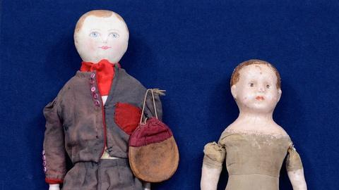 """Antiques Roadshow -- S19 Ep10: Appraisal: """"Maggie Bessie"""" & """"Alabama Baby"""" Dolls"""