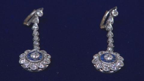Antiques Roadshow -- S19 Ep10: Appraisal: Art Deco Style Diamond & Sapphire Earri