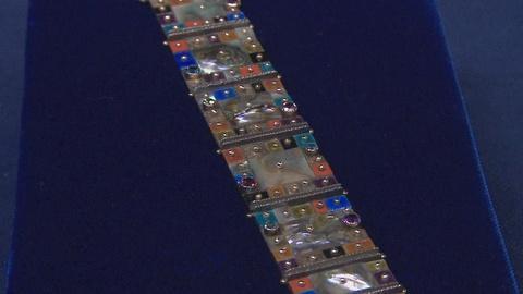 Antiques Roadshow -- S19 Ep10: Appraisal: Earl Pardon Mosaic Bracelet, ca. 1985