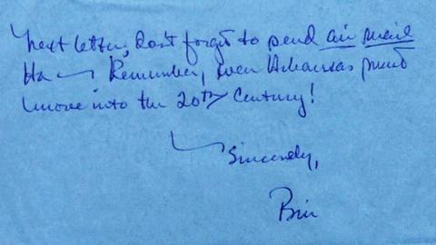 Antiques Roadshow -- S19 Ep11: Appraisal: 1968 Bill Clinton Letters