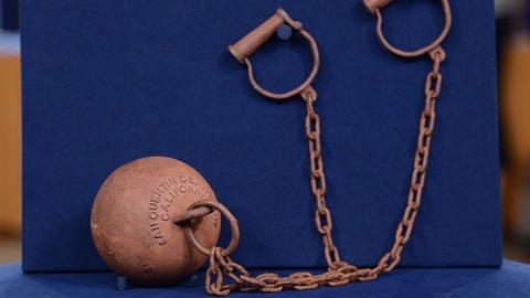 Antiques Roadshow -- S19 Ep11: Appraisal: Replica San Quentin Death Row Ball & Ch