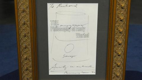 Antiques Roadshow -- S19 Ep11: Appraisal: 1976 Andy Warhol Illustrated Title Page