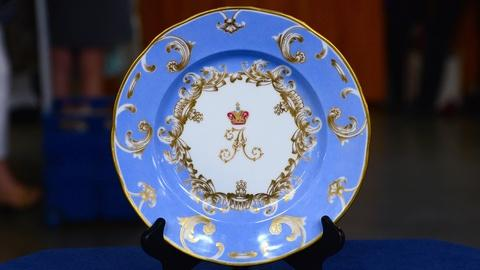 Antiques Roadshow -- S19 Ep11: Appraisal: 1892 Alexander III Russian Imperial Pla