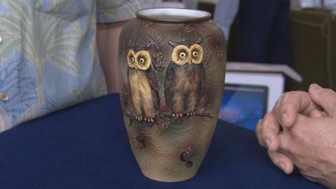 Antiques Roadshow -- S19 Ep11: Appraisal: Morimura Brothers Owl Vase, ca. 1905
